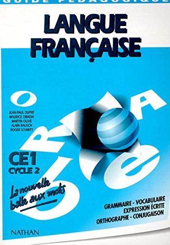 Nouvelle balle aux mots CE1 maitre (French Edition): Collectif
