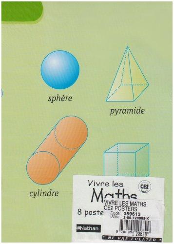 9782091206899: Vivre les Maths CE2 Posters