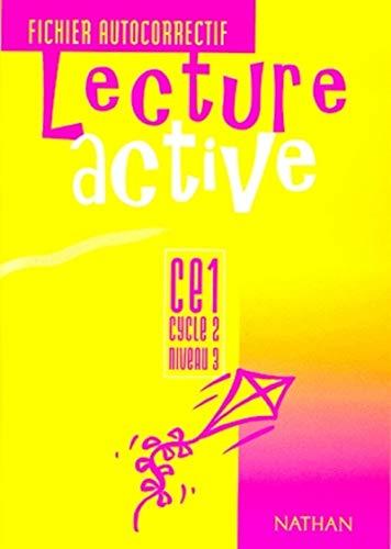 9782091207735: Lecture active, CE1, cycle 2, niveau 3, fichier autocorrectif