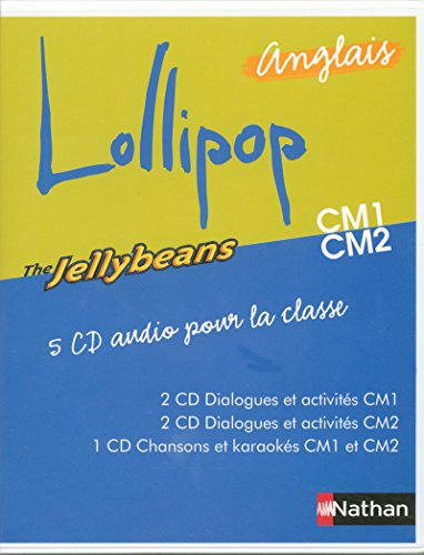 LOLLIPOP ANGLAIS THE JELLYBEANS CM1 CM2 5 CD AUDIOPOUR LA CLASSE Livre scolaire