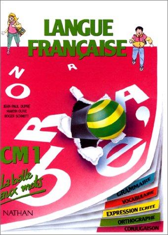 9782091210728 Langue Francaise Cm1 Grammaire Vocabulaire