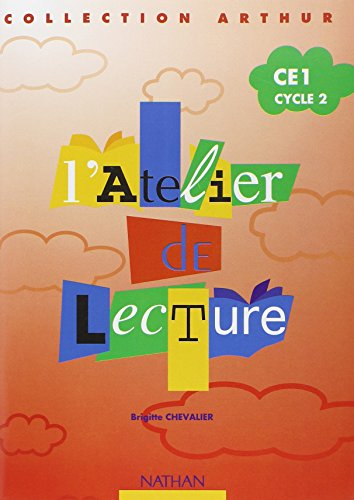 9782091211503: L'atelier de lecture Arthur CE1 : cahier élève