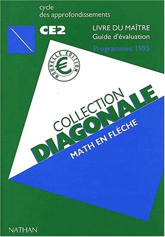 9782091214269: Math en flèche CE2. : Livre du maître, Guide d'évaluation, Programmes 1995