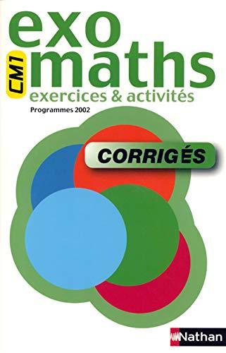 9782091216096: Exomaths : Mathématiques, cycle 3 : CE2-CM1 (Manuel du professeur, sujets corrigés)