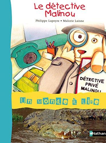album t.2 ; le dà tective Malinou: Philippe Lapeyre