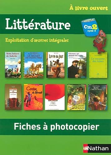 Litterature CM2 (French Edition): Christian Demongin