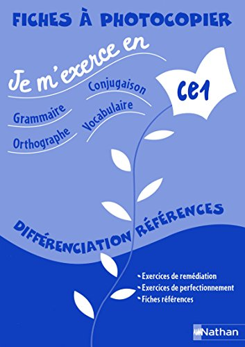 Je M'Exerce en -Fichier Enseignant-CE1 (French Edition): Collectif