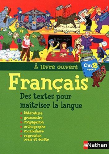9782091220222: Francais CM2 A livre ouvert (French Edition)
