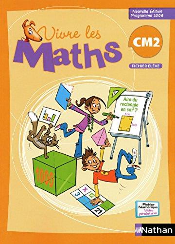 9782091220727: Vivre les maths CM2, Fichier : Programme 2008