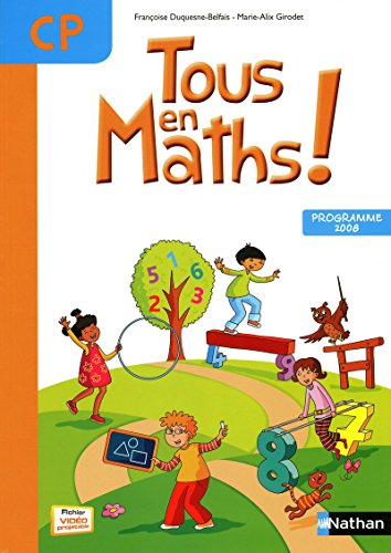 9782091220826: Tous en maths ! CP (French Edition)