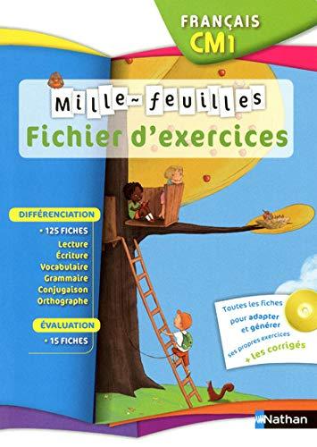 mille feuilles cm1 - fiches activites + cd: Christian Demongin