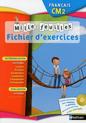 Français CM2 : Fichier d'exercices (1Cédérom): Christian Demongin