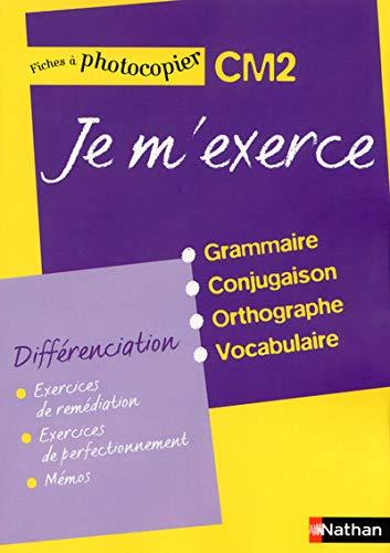 9782091226026: Je M'Exerce CM2 - Fiches de Differenciation