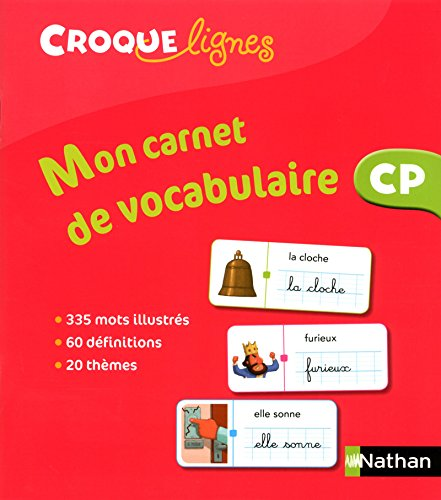 9782091226088: Mon carnet de vocabulaire Croque-lignes CP