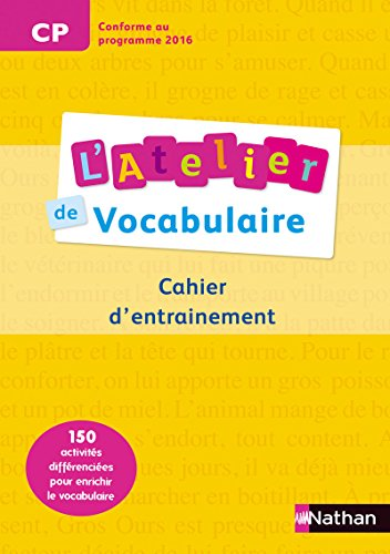 9782091226644: Atelier Vocab-Ortho-Express - Cahier 1