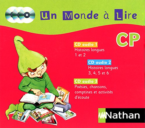 9782091227115: 3 CD audio - Un Monde � Lire CP
