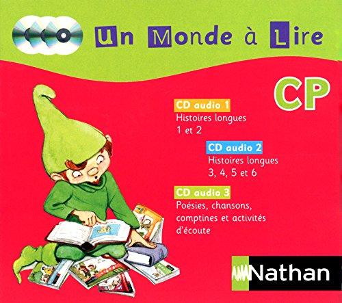 Un monde à lire CP (1CD audio)