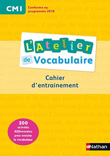 9782091228204: L'Atelier de Vocabulaire CM1
