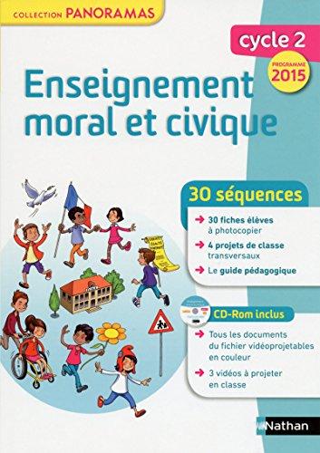 Ens. moral & civiq. - fiches photocop. + CD - c2