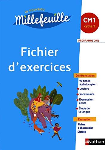 9782091229294: Le nouveau Millefeuille CM1 : Fichier d'exercices