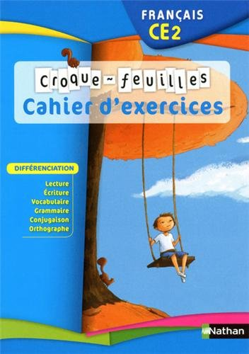 9782091239057: Français CE2 Croque-Feuilles : Cahier d'exercices