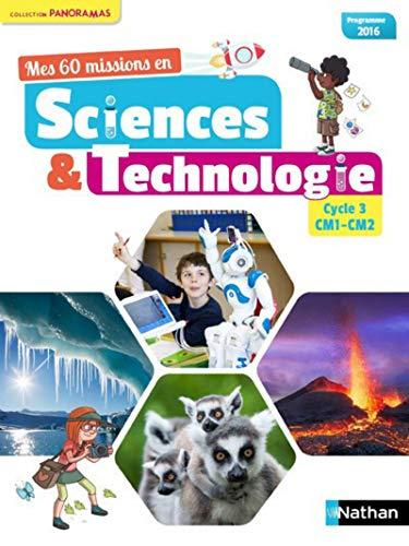 9782091240862: Mes 60 missions en Sciences et Technologie CM1 et CM2
