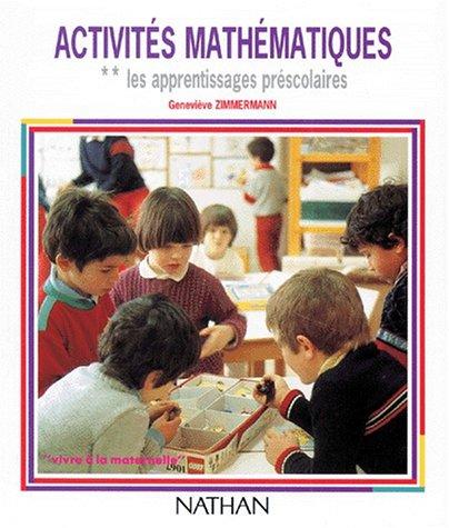 9782091470382: Activités mathématiques, numéro 2 : les apprentissages préscolaires