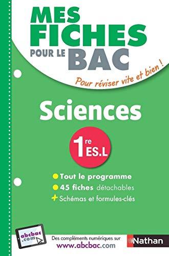 Mes Fiches pour le BAC SCIENCES 1re: Anne-Laure Adam-Havé; Nicolas