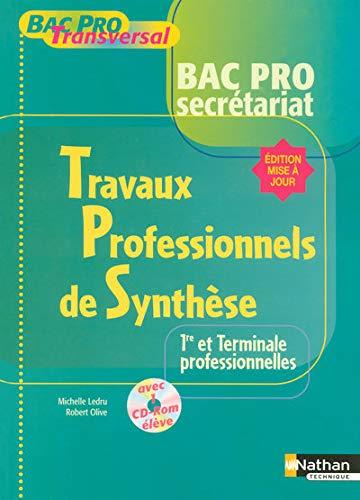 9782091602943: Travaux Professionnels de Synthese 1e et Tle pro (French Edition)