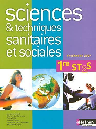 """""""sciences et techniques sanitaires et sociales ; 1ère ST2S ; livre de l'él&..."""