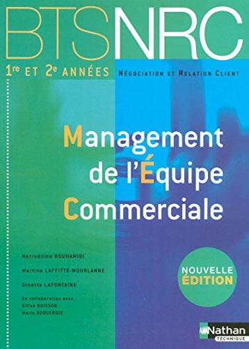 9782091603827: Management de l'Équipe Commerciale (Éd.2007)