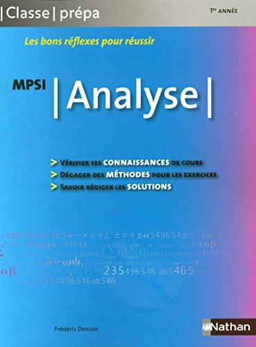 9782091604763: Analyse - MPSI