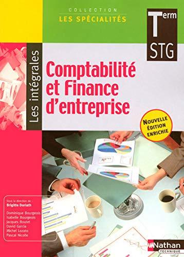 9782091605524: Comptabilit� et Finance d'entreprise - Terminale STG