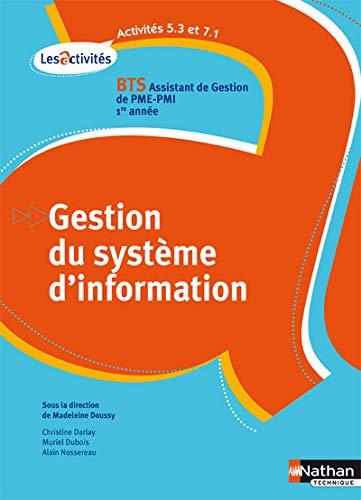 Gestion du système d'information BTS Assistant de: Doussy, Madeleine, Collectif