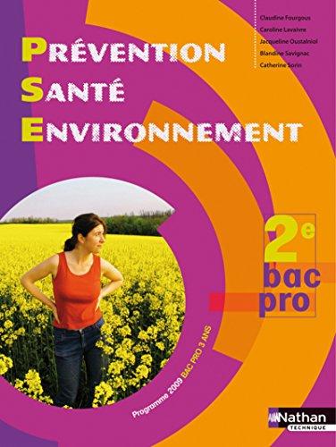 """""""prévention santé environnement ; seconde bac pro ; livre de l'él&..."""
