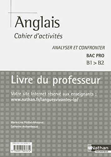 9782091607672: Anglais cahier d'activites Bac Pro (French Edition)