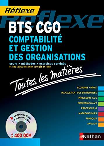 Comptabilité et gestion des organisations BTS CGO: PASCAL BESSON; LAURENCE