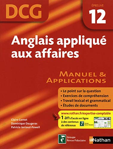 9782091610047: Anglais applique aux affaires (French Edition)