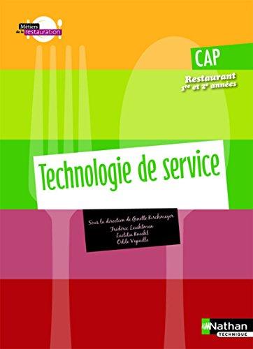 CAP Restaurant 1re et 2e années : Kirchmeyer, Ginette, Leichtnam,