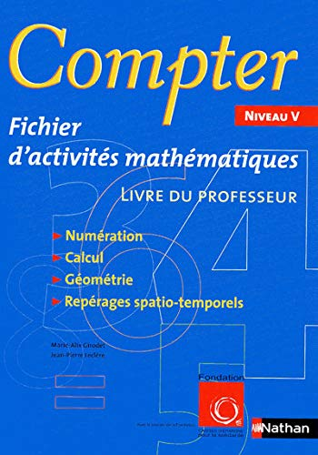 9782091610559: Compter Niveau V (French Edition)