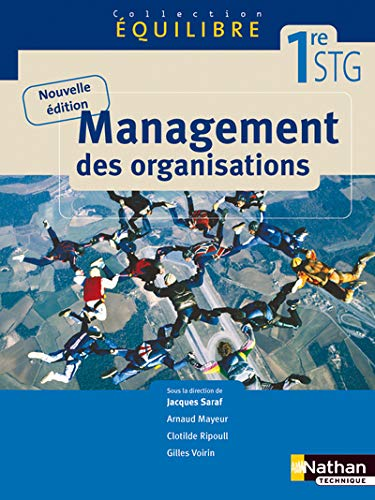9782091610740: Equilibre Management des organisations 1e STG (French Edition)