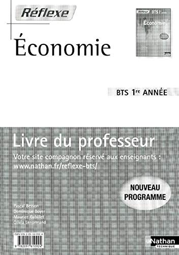 Economie BTS 1re annee (French Edition): Pascal Besson