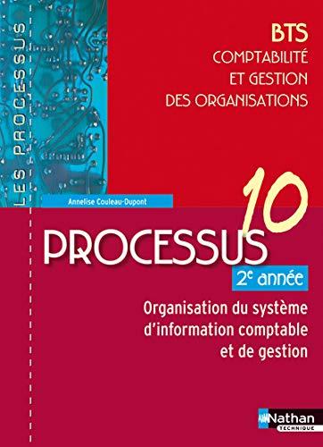 """""""processus 10 ; BTS ; comptabilité et gestion des organisations ; 1ère ann&..."""