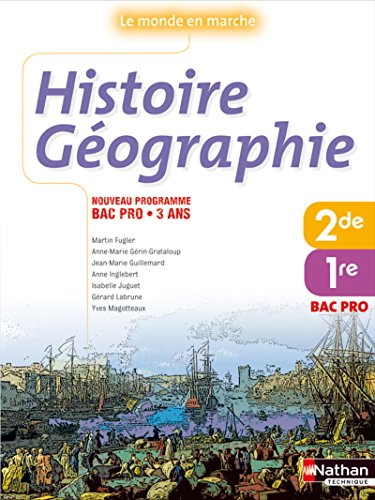 9782091611440: Histoire Geographie Bac Pro 1e et 2e annees (French Edition)