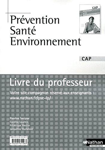 9782091611983: Prévention Santé Environnement CAP