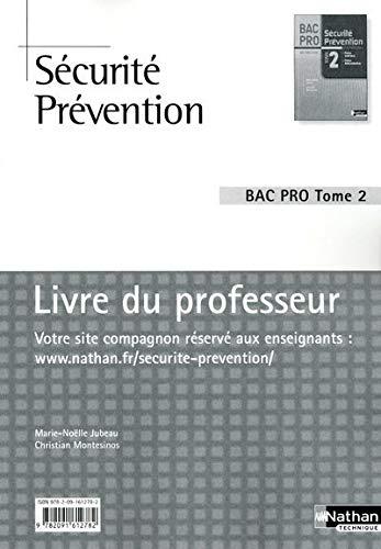 9782091612782: S�curit� Pr�vention - Livre du professeur