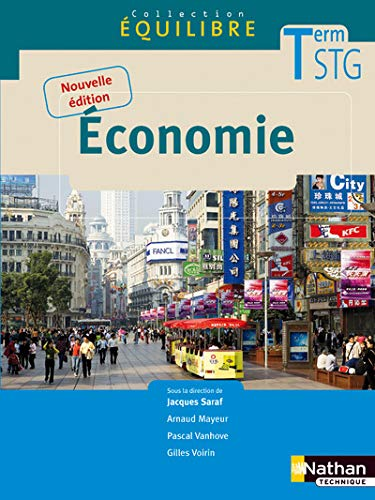 Economie Tle STG (French Edition): Jacques Saraf