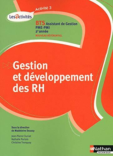 9782091613345: Gestion et développement des ressources humaines A3 BTS assistant de gestion PME-PMI 2e année