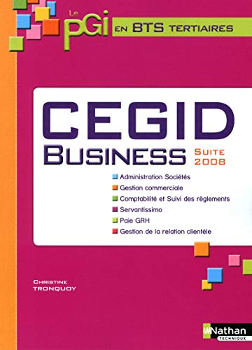 Cegid Business (French Edition): Christine Tronquoy