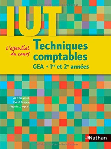 Techniques comptables IUT GEA 1e et 2e années (French Edition): Laurence Cassio
